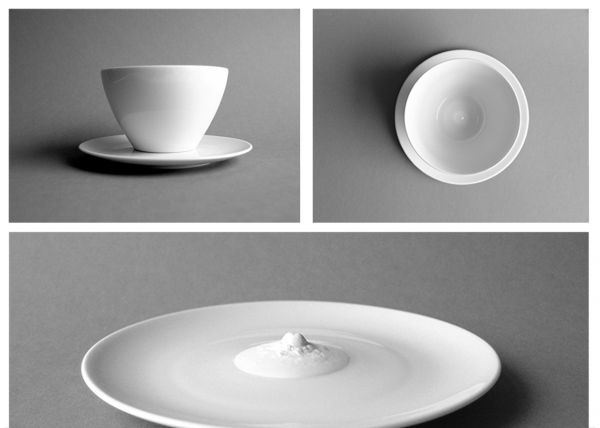 A-Cup - Café latte bowl with saucer
