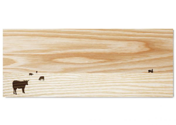 Unique long serving board